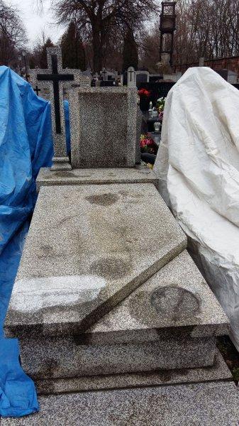 Wszystkie nowe Renowacja lastrico - | Nagrobki kamieniarstwo Art-Zych | ul. św HX28
